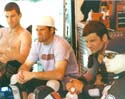 Darren (third from right) with El Jefe (right), Back in the Day Racing