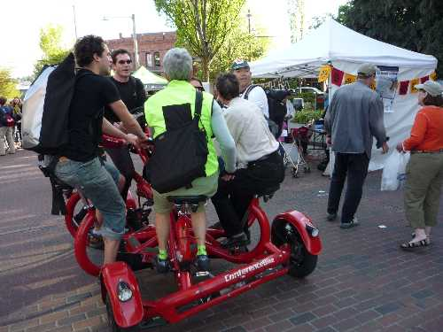 Conference bike: Strength in numbers