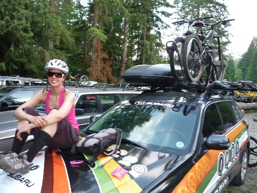 IMBA's Inga and her multiple rides