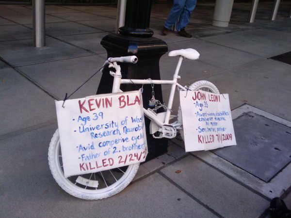 Killed on bikes by careless drivers
