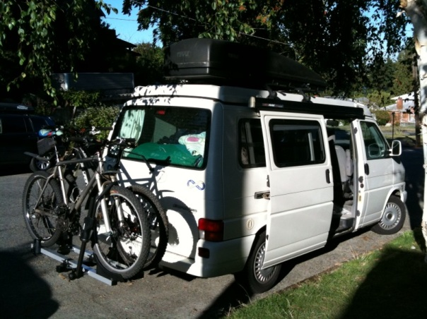 Thule's T2 on our Eurovan