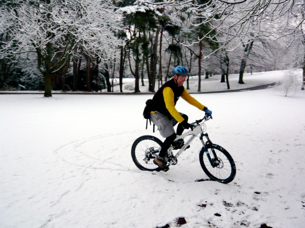 Bike plus Snow