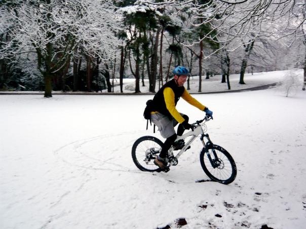 Bike plus Snow